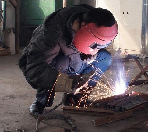 简易电焊杌电路图